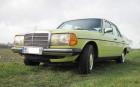 Biete sehr guten mimosengelben W123 300D