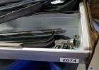 Kofferraumabdeckungen rechts Blech Türdichtung