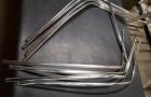 Zierleisten Heckscheibe breite Ausführung W111