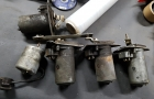 Wischermotoren Klappenstutzen Gebläsemotor