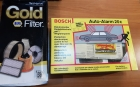 Bosch Alarmanlage 20C, Gold Filter 2177