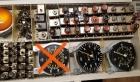 3 x Tacho US W 107 - Warnblinkschalter W 110 W 111