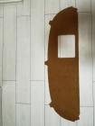 Teppich für Hutablage C123 Feinvelour Dattel