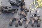 Achshälften Wagenheber Saugrohr Lenkgetriebe 111