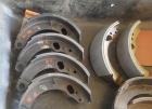Bremsbackensätze Heckflosse hinten neu belegt