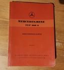 Original Ersatzteilliste Katalog 300 S Typ W 188
