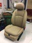 Beifahrersitz Leder beige el. mit Lüftung und Heizung W211