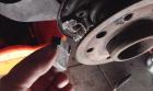 Bremsträgerplatte W109