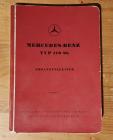 Original Ersatzteilliste Katalog 170 Sb Typ W 191