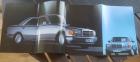 Prospekt W 126 Druck 06 / 1986 cirka 40 Seiten