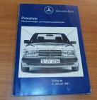 Preisliste Personenwagen + Sonderausstattungen 01/1991