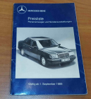Preisliste Personenwagen + Sonderausstattungen 09/1989