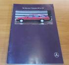 Prospekt die Mercedes T-Modelle 200 - 300