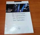 Prospekt Mercedes-Benz Polsterungen 02/1991