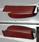 Sitzlehnenverkleidung 107 rot