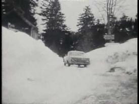 Historischer Werbefilm Mercedes Benz Heckflosse/Pagode