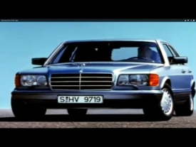 Mercedes-Benz W126 Trailer