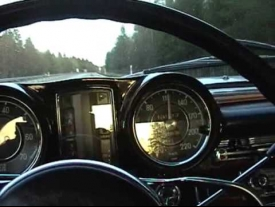 0-180 km/h Mercedes Benz W111 250SE Coupe 1967