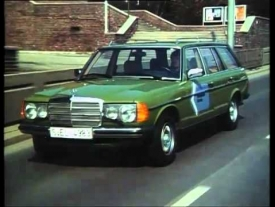 Mercedes-Benz W123 280TE - Hydrogen Gas Test