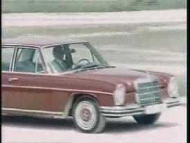 Historischer Werbefilm Mercedes Benz /8 1968