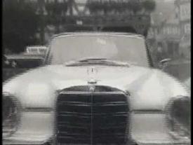 Historischer Werbefilm Mercedes Benz Heckflosse