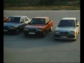 Introduction of the Mercedes 190E