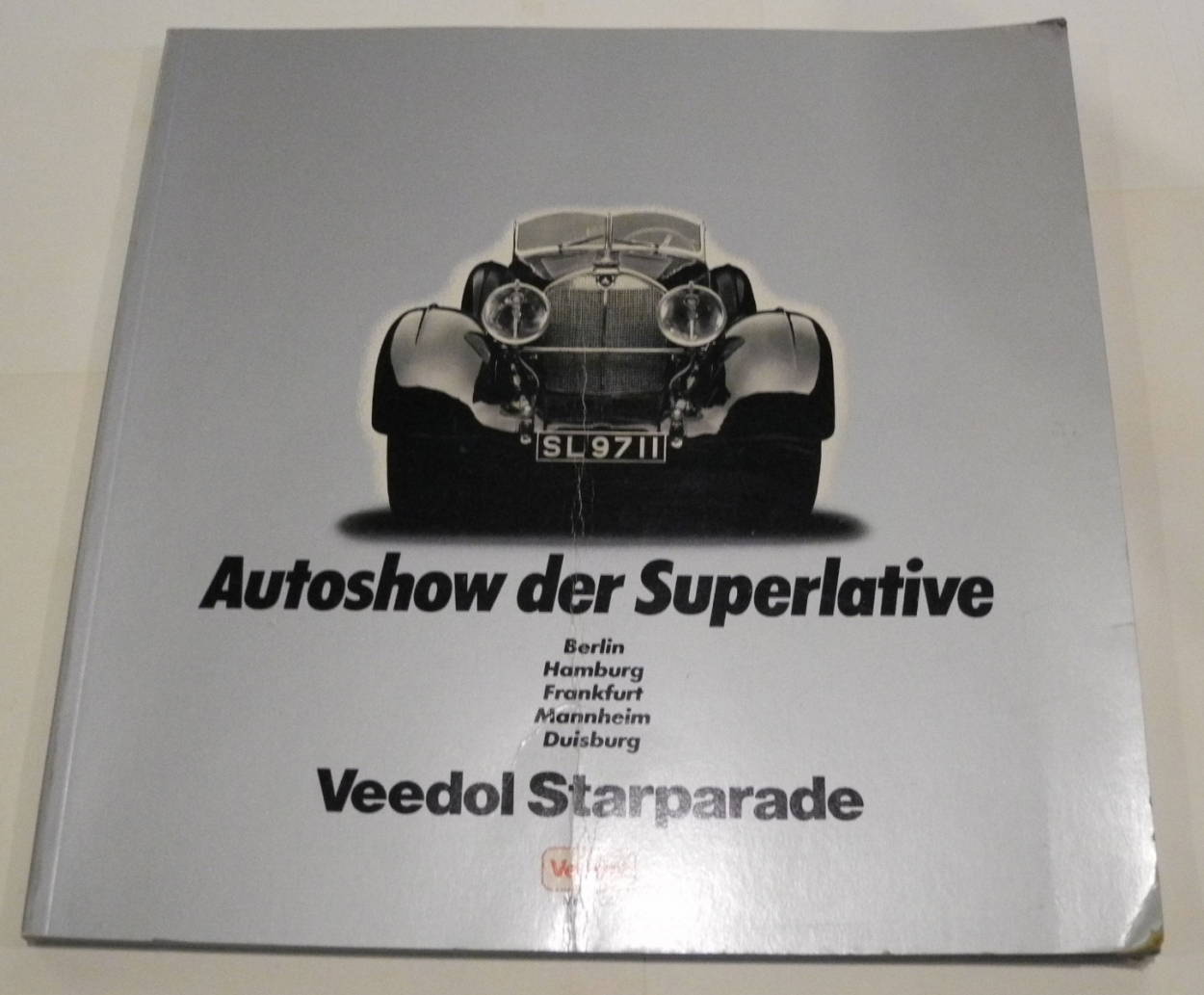 Buch Autoshow der Superlative