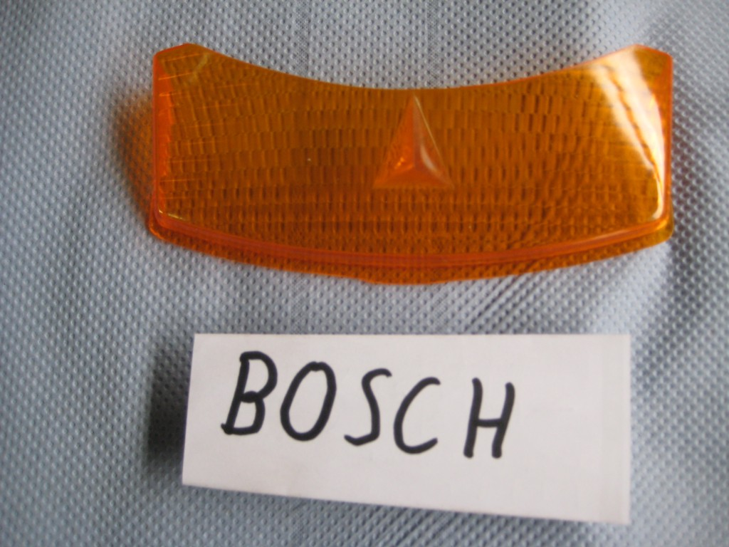 Blinkerglas-Bosch orange W114W115